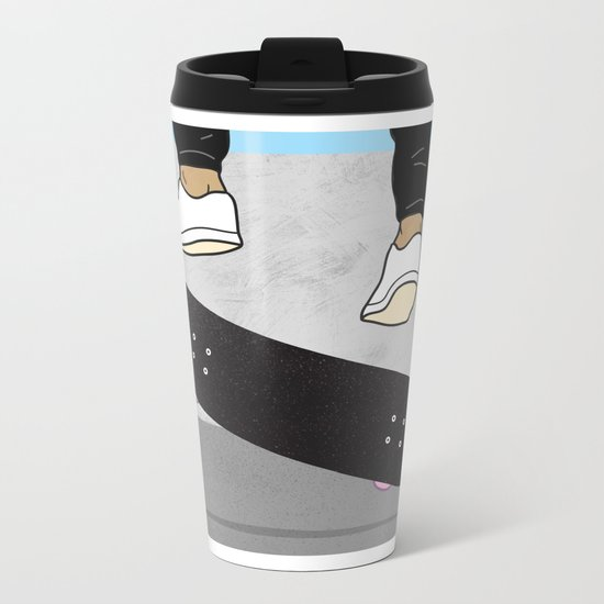 Noseslide Metal Travel Mug