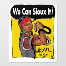 We Can Sioux It Canvas Print