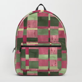 Weaver's Dream / Geometric Meets Floral Backpack