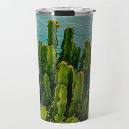 Amalfi Coast Cactus Travel Mug