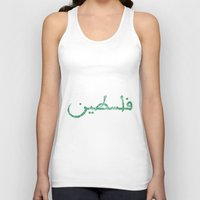 palestine Tank Tops featuring Palestine. by real talk tho.