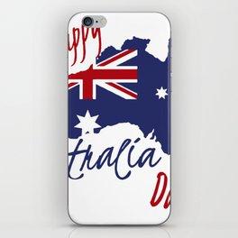 Happy Australia Day 2018 iPhone Skin