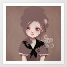 Emma (2011 version) Art Print