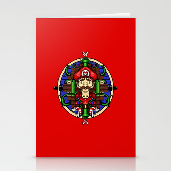Mario's Melancholy Stationery Cards