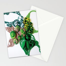 Green with Lime  Fine Art Photography Stationery Cards