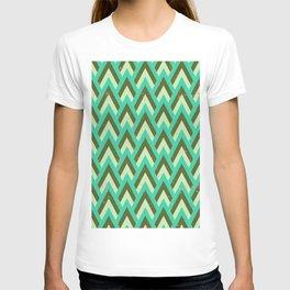 Green Art Deco T-shirt