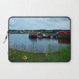 Fisherman's Wharf in Cape Breton Laptop Sleeve