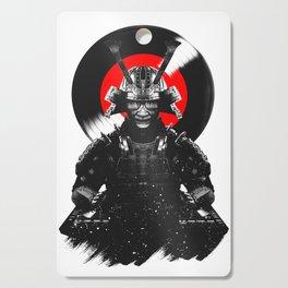 Samurai Dj Warrior Cutting Board