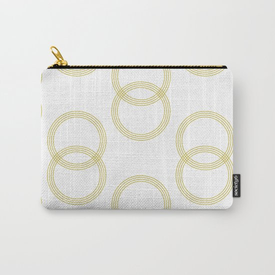 Simply Infinity Link Mod Yellow and White Carry-All Pouch