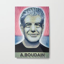 In commemoration of Anthony Boudain Metal Print