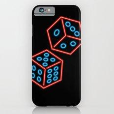 Neon dice iPhone 6s Slim Case