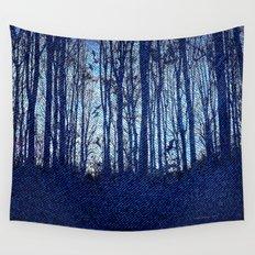 Denim Designs Winter Woods Wall Tapestry