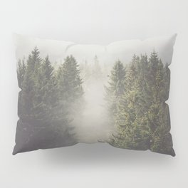My misty way - Landscape and Nature Photography Pillow Sham