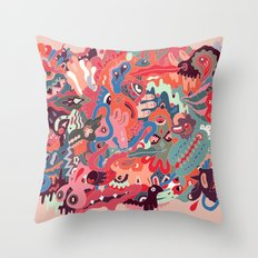 Psyche Throw Pillow