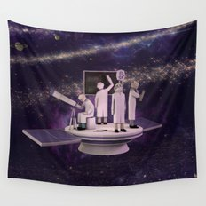 Space Scientists Wall Tapestry