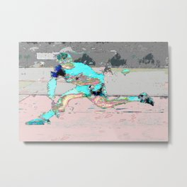 male tennis player Metal Print