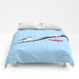 AFE Bird on a branch Comforters