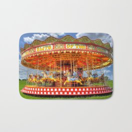 Carousel Merrygoround Bath Mat