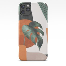 Abstract Art / Plants iPhone Case