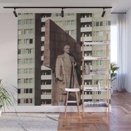East berlin Lenin Statue Wall Mural