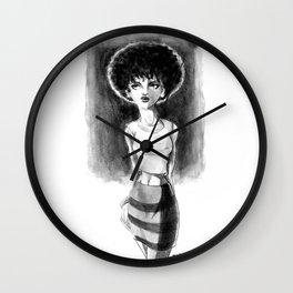 Afro Punk Wall Clock