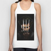 x men Tank Tops featuring x men by Fila Venom Art