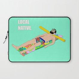 Local Native - Music Inspired Fan Cliche Digital Art Laptop Sleeve