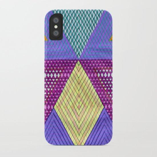 Isometric Harlequin #9 iPhone Case