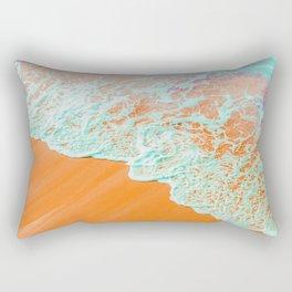 Coral Shore #photography #digitalart Rectangular Pillow