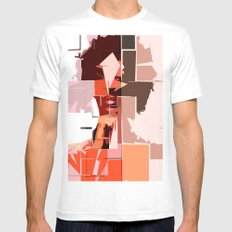 K'naan White Mens Fitted Tee MEDIUM