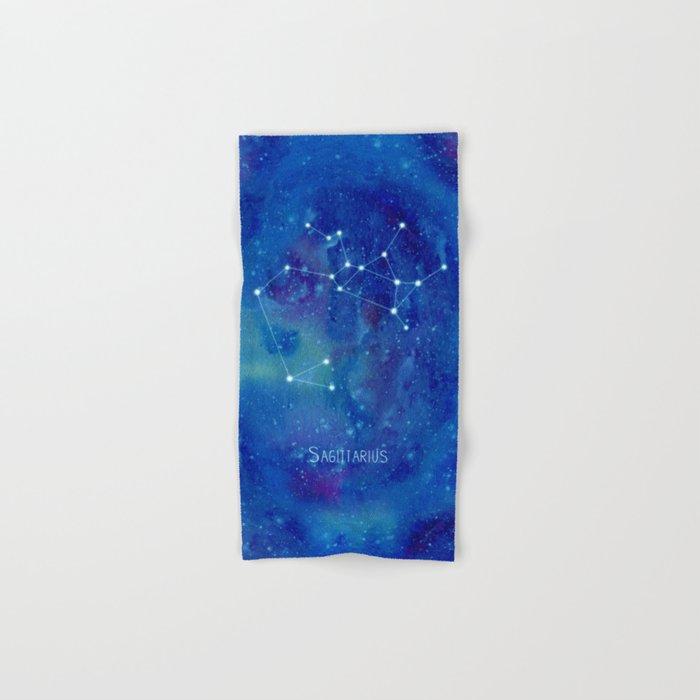 Constellation Sagittarius  Hand & Bath Towel