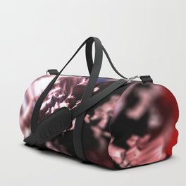 Abstract flower nature design intricate pattern texture background Duffle Bag