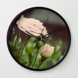 Pink Delight Wall Clock
