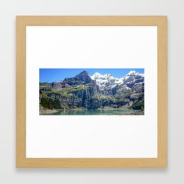 Kandersteg Switzerland Framed Art Print