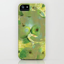 Fine Art of The Sense of Green Life! iPhone Case