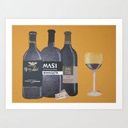 In vinum es veritas Art Print