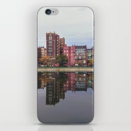 Pink Reflections iPhone Skin