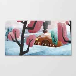Tundra Home Canvas Print