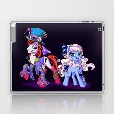 Mad T Ponies 'Alice and Tarrant' Laptop & iPad Skin
