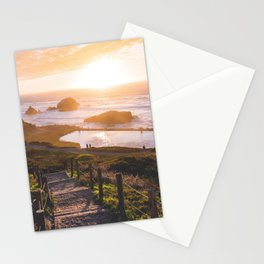 Sunset At Sutro Baths - San Francisco, CA Stationery Cards