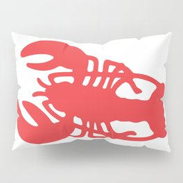 Red Lobster Pillow Sham