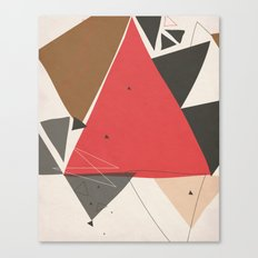 Exploding Triangles//Two Canvas Print