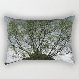 Texas Mesquite Tree Rectangular Pillow
