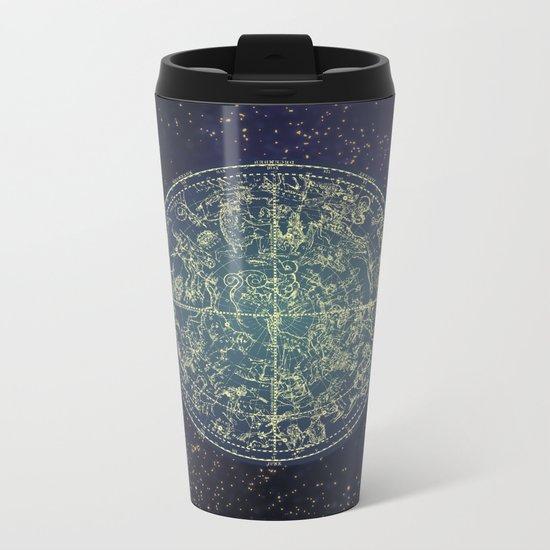 Ancient zodiac Metal Travel Mug