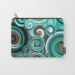Water Whirlwind Abstract Carry-All Pouch