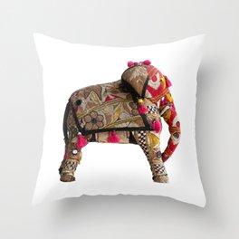 ElephanTribe Throw Pillow