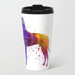 Great Dane 01 in watercolor Travel Mug