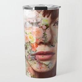Flowered skin ll Travel Mug