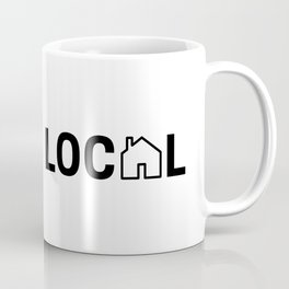 Drink Local (Black) Coffee Mug