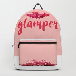 GLAMP it UP! (aka camper with makeup) Backpack